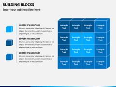 Building blocks PPT slide 3