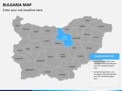 Bulgaria map PPT slide 10