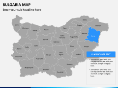 Bulgaria map PPT slide 11