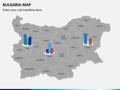 Bulgaria map PPT slide 16
