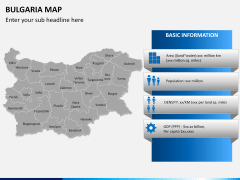 Bulgaria map PPT slide 17