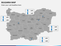 Bulgaria map PPT slide 18