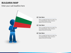 Bulgaria map PPT slide 23
