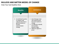 Bullock & Batten Change Model PPT slide 8