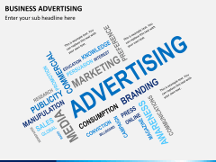 Business advertising PPT slide 2