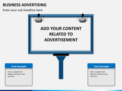 Business advertising PPT slide 4