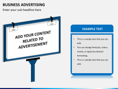 Business advertising PPT slide 5