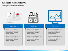 Business advertising PPT slide 6