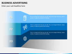 Business advertising PPT slide 8