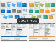 Business model canvas PPT cover slide