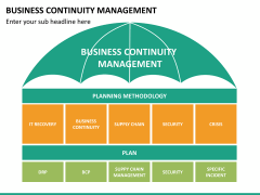 Business continuity management PPT slide 13