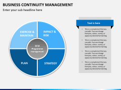 Business continuity management PPT slide 10