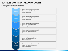 Business continuity management PPT slide 12