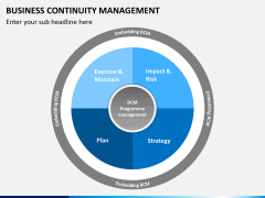 Business continuity management PPT slide 2