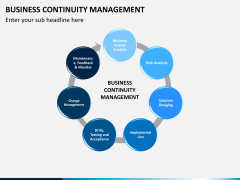 Business continuity management PPT slide 3