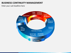 Business continuity management PPT slide 5