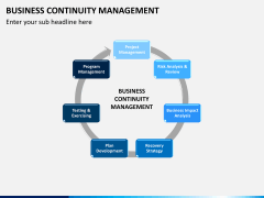 Business continuity management PPT slide 7