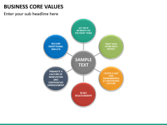 Business core values PPT slide 19