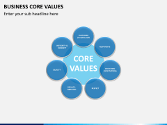 Business core values PPT slide 14
