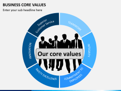 Business core values PPT slide 2