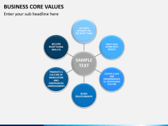 Business core values PPT slide 4