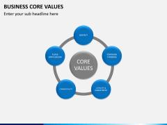 Business core values PPT slide 6