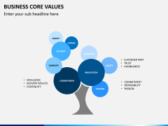 Business core values PPT slide 8