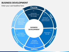 Business Development PPT slide 1