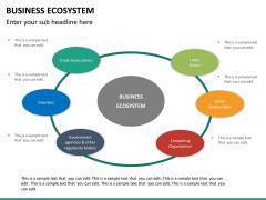 Business ecosystem PPT slide 25