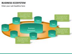 Business ecosystem PPT slide 22