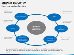 Business ecosystem PPT slide 10