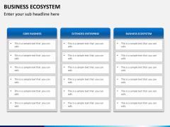 Business ecosystem PPT slide 11