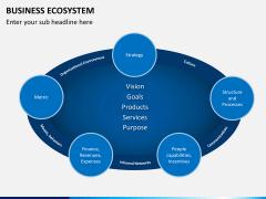 Business ecosystem PPT slide 3