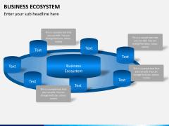 Business ecosystem PPT slide 7