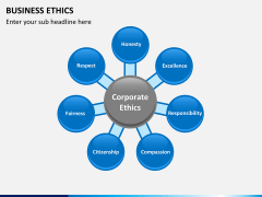 Business ethics PPT slide 1