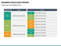 Business Excellence Model PPT Slide 25