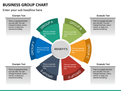 Business group chart PPT slide 11