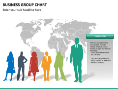 Business group chart PPT slide 20