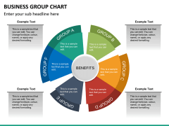 Business group chart PPT slide 12