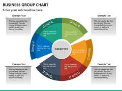 Business group chart PPT slide 13