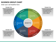 Business group chart PPT slide 14