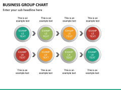Business group chart PPT slide 15