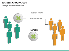 Business group chart PPT slide 17