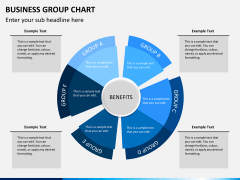 Business group chart PPT slide 2