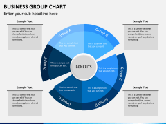 Business group chart PPT slide 3