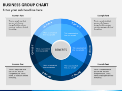 Business group chart PPT slide 4
