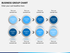Business group chart PPT slide 5
