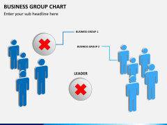 Business group chart PPT slide 7