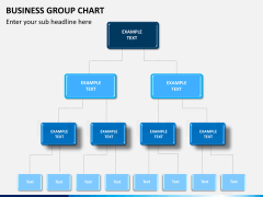 Business group chart PPT slide 9