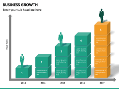 Business growth PPT slide 15